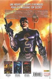 Verso de Secret Avengers (Marvel Deluxe) -1- Histoires secrètes