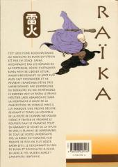 Verso de Raïka -5- Tome 5