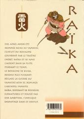 Verso de Raïka -2- Tome 2
