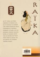 Verso de Raïka -1- Tome 1