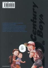 Verso de 20th Century Boys - Deluxe -8- Tome 8