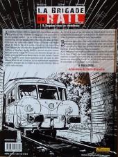 Verso de La brigade du rail -3- Requiem chez les cheminots