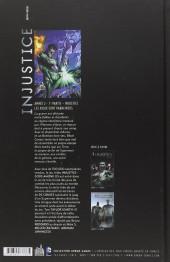 Verso de Injustice - Les Dieux sont parmi nous -3- Année 2 - 1re partie