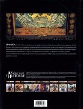 Verso de Ils ont fait l'Histoire -10- Louis XIV - Tome 1/2