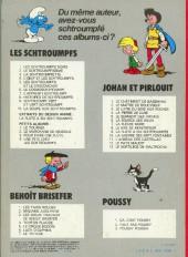 Verso de Les schtroumpfs -1b80- Les schtroumpfs noirs