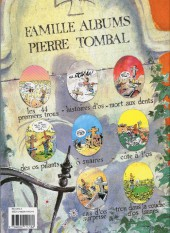 Verso de Pierre Tombal -2b1992- Histoires d'os