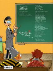 Verso de L'instit Latouche -4- Adieu, monsieur le professeur