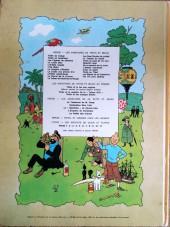 Verso de Tintin (Historique) -16B40- Objectif Lune
