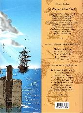 Verso de Marine (Les mini aventures de) -1- Marine, fille de pirate