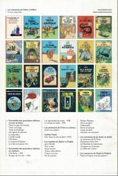 Verso de Tintin - Publicités -6Libre 4/4- L'oreille cassée (4)