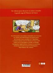 Verso de L'histoire de france en bd (mille bulles de l'école des loisirs) -6- Le 19e siècle ... et le 20e siècle !