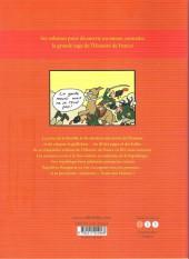 Verso de L'histoire de france en bd (mille bulles de l'école des loisirs) -5- La Révolution ... et l'Empire !