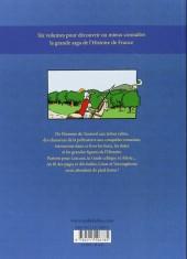 Verso de L'histoire de france en bd (mille bulles de l'école des loisirs) -1a- De la préhistoire... à la Gaule celtique