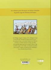 Verso de L'histoire de france en bd (mille bulles de l'école des loisirs) -3- Le Moyen-Âge !