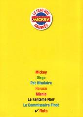 Verso de Les héros de Mickeyville -8- Pluto
