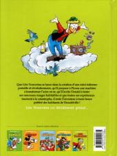 Verso de Les grands Héros Disney -5- Génial Géo Trouvetou