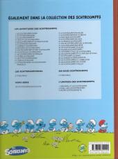 Verso de Les schtroumpfs -25a14- Un enfant chez les Schtroumpfs