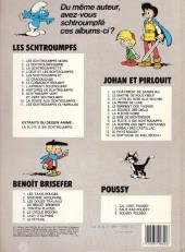 Verso de Johan et Pirlouit -9c1982- La flûte à six schtroumpfs