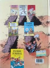 Verso de Pierre Tombal -3b1990- Mort aux dents