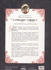 Verso de L'Étrange cabaret ...des fées désenchantées - Art book