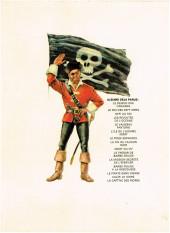 Verso de Barbe-Rouge -7b1973- L'Île de l'homme mort