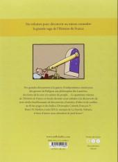 Verso de L'histoire de france en bd (mille bulles de l'école des loisirs) -4- De la renaissance à la révolution !