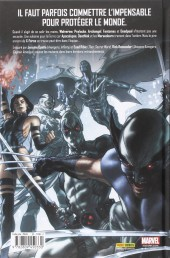 Verso de Uncanny X-Force -1- La Solution Apocalypse