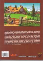 Verso de Les mémoires de Mathias -3a- Les Dieux du lac