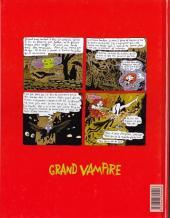 Verso de Grand vampire -4- Quai des brunes
