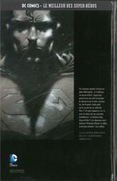 Verso de DC Comics - Le Meilleur des Super-Héros -3- Superman - Le Dernier Fils