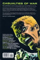 Verso de War of the Green Lanterns: Aftermath (2011) -INT- War of the Green Lanterns: Aftermath