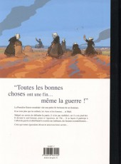 Verso de Facteur pour femmes - Tome TL