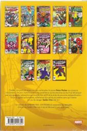 Verso de Spider-Man (L'Intégrale) -21INT- Spider-Man : l'intégrale 1983