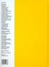 Verso de Blueberry (La Jeunesse de) -2c1998- Un yankee nommé Blueberry