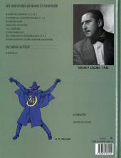 Verso de Blake et Mortimer (Les Aventures de) -6b1992- La Marque Jaune