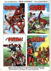 Verso de Akim-Color -9- Le prince de la forêt