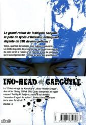 Verso de Ino-Head Gargoyle -1- Vol. 1