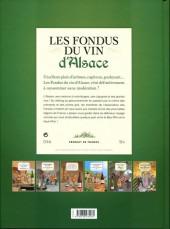 Verso de Les fondus du vin -5- Alsace