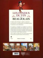 Verso de Les fondus du vin -6- Beaujolais