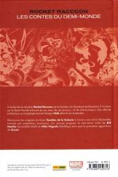 Verso de Rocket Raccoon - Les Contes du Demi-Monde