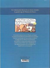 Verso de L'histoire de france en bd (mille bulles de l'école des loisirs) -2a15- De la Gaule romaine... à l'an mil !