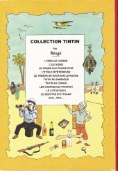 Verso de Tintin - Divers - Le crabe aux pinces d'or - Fête du timbre