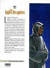 Verso de Les aigles décapitées -3c1999- Les éperons d'or