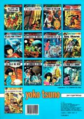 Verso de Yoko Tsuno -13a84- Les archanges de Vinéa