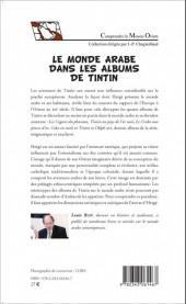 Verso de Tintin - Divers - Le monde arabe dans les albums de Tintin