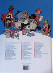 Verso de Spirou et Fantasio -4k12- Spirou et les héritiers