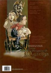 Verso de Les seigneurs d'Agartha -2- L'oracle