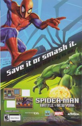 Verso de Friendly Neighborhood Spider-Man (2005) -14- Taking wing part 1
