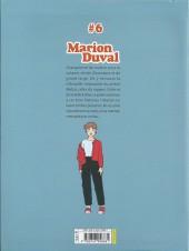 Verso de Marion Duval -INT6- Tome 6