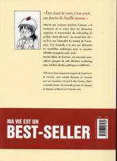 Verso de Ma vie est un best-seller - Tome 1